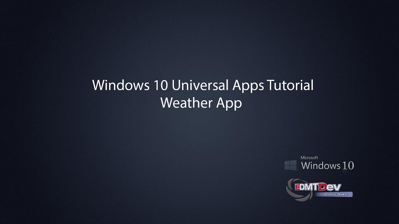 windows 10 universal app location