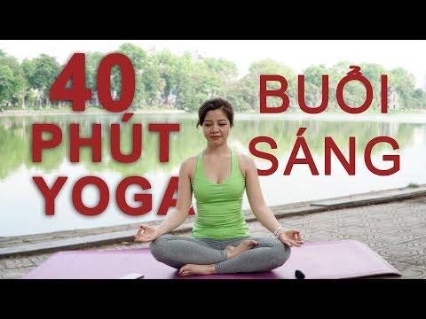 Bài tập Yoga đầy đủ mỗi ngày cùng Nguyễn Hiếu - Yoga tại Hồ Hoàn Kiếm - Hà Nội (Hoan Kiem Lake)