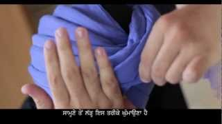 Patiala Shahi Pagg | Turban Tutorial | Daman Jit Singh ( HD 720p) With Explanations