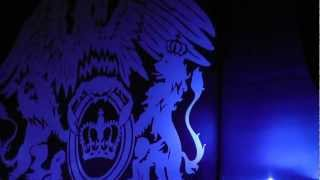 Queen and Adam Lambert-Start-Flash We Will Rock You Fast-HMV Hammersmith Apollo 12-07-2012