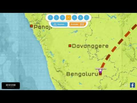 Goa ||Map Trip|| 2017 - 18
