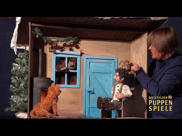 Bielefelder Puppenspiele: Es klopft bei Wanja in der Nacht -  Trailer zum Tischtheater-Stück