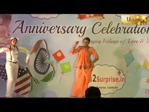 Didi Tera Dewar Diwana Dance - Us2guntur.com 13th Anniversary Celebrations