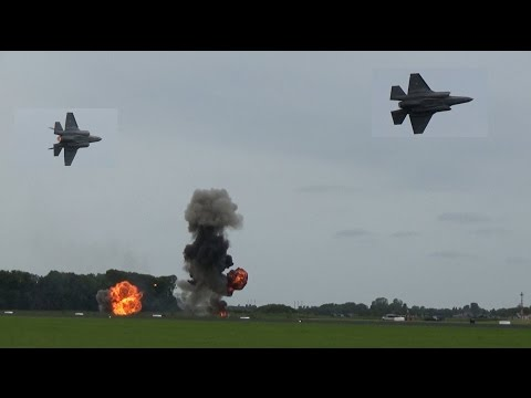 Massive DUTCH AIR FORCE DISPLAY to introduce F-35 at Luchtmachtdagen 2016