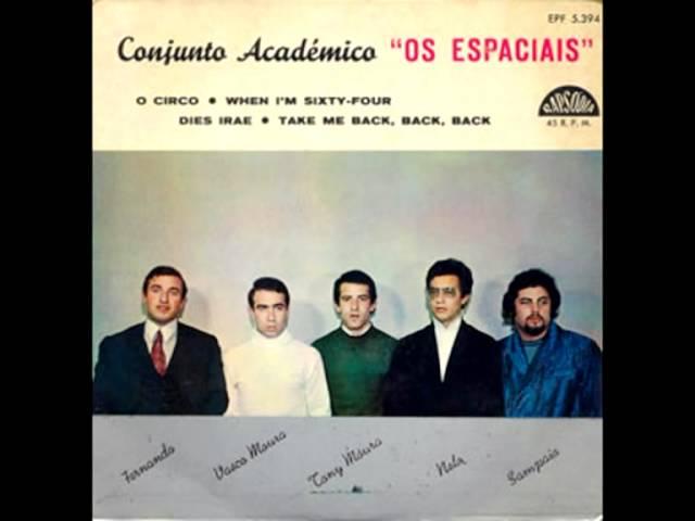 Conjunto Academico Os Espaciais - Take me Back, Back, Back (1967)