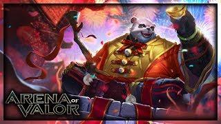 Kung Fu Panda Jungle? Virada Épica no Arena of Valor
