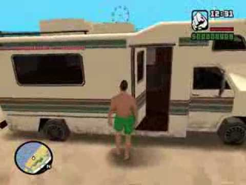 gta san andreas journey with enterable interior youtube. Black Bedroom Furniture Sets. Home Design Ideas