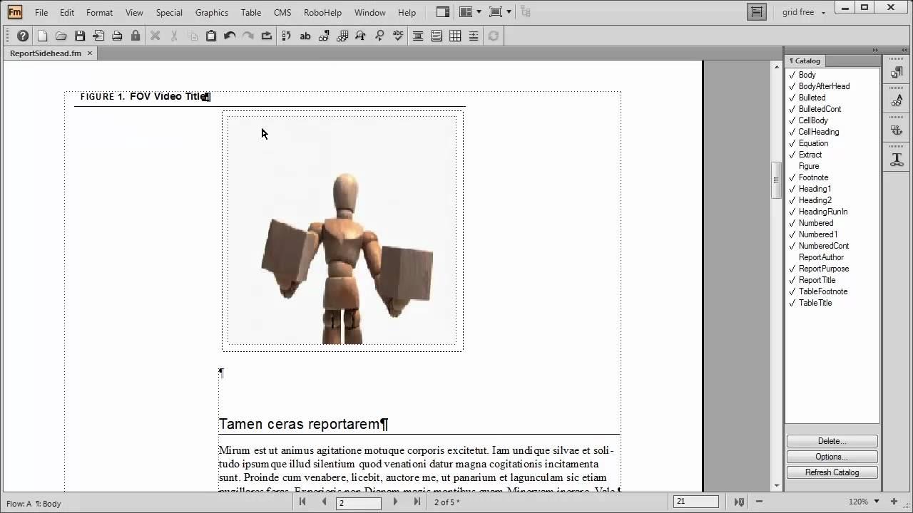 FrameMaker 11: Enhanced video capabilities - YouTube