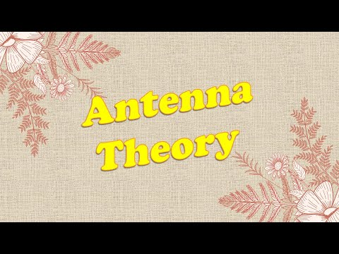Lecture 11   Antenna In Communication System