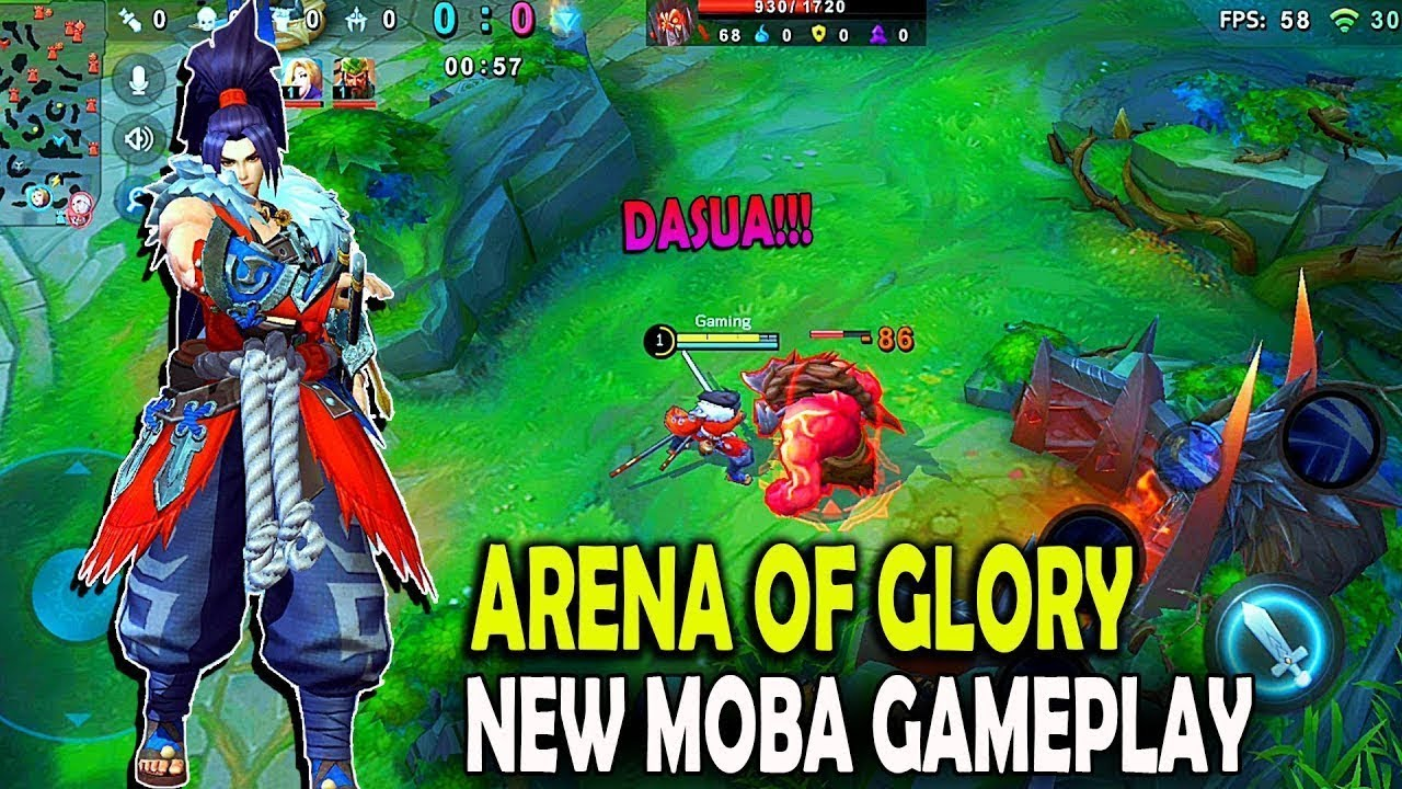 Arena Of Glory New Moba 2019 Arena Of Glory League Of