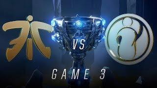 FNC vs IG | Finals Game 3 | World Championship | Fnatic vs Invictus Gaming (2018)