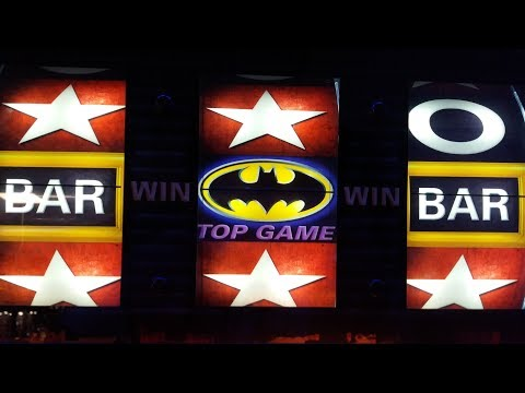 Batman Begins Fruit Machine Long & Good Game Play