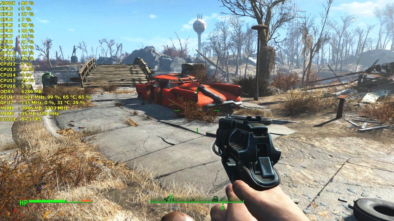 how to show fps in fallout 4