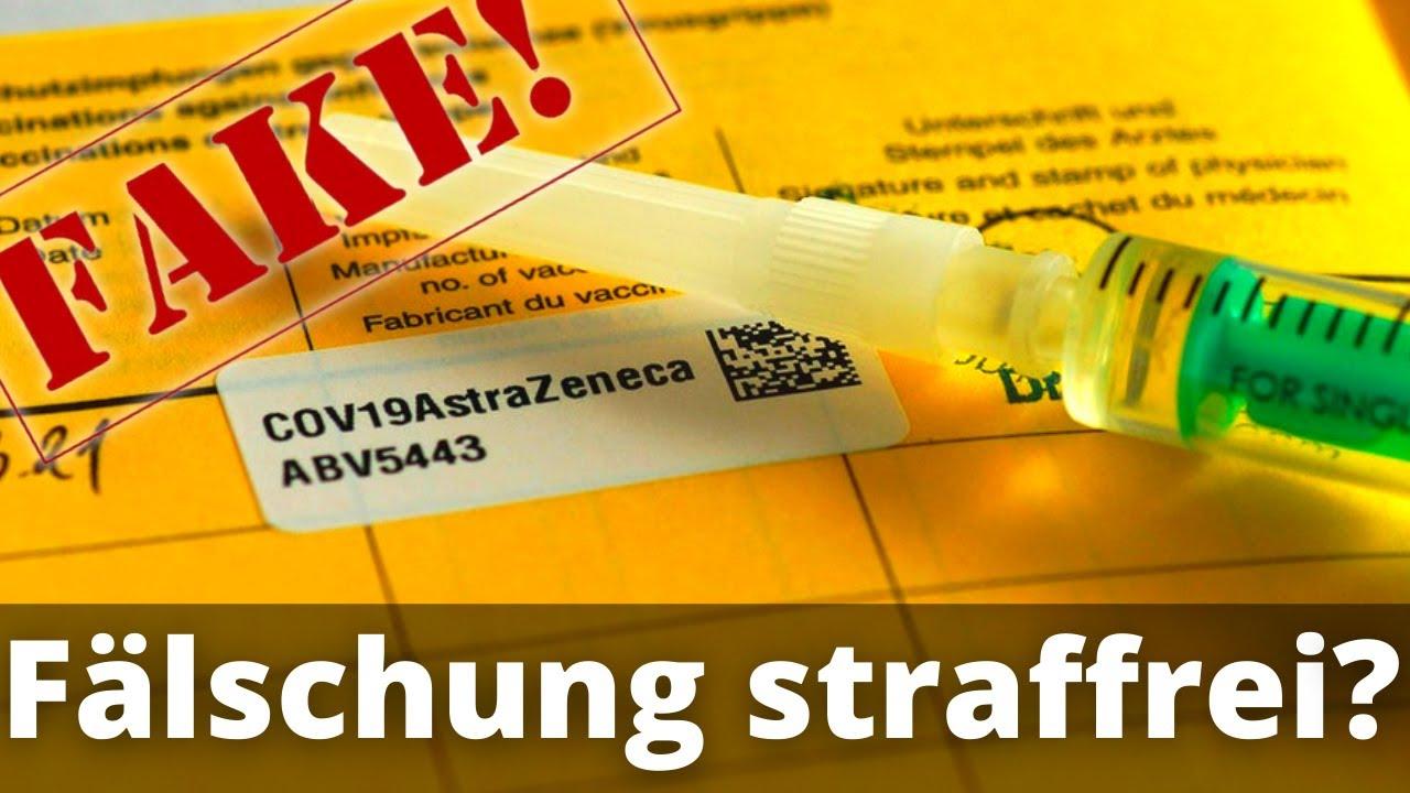 Download Impfausweise fälschen ohne Strafe? (Krasse Regelungslücke!)