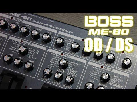 BOSS ME-80 - Overdrive & Distortion   Luigi Piovesan