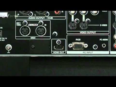 Roland VR-5 Audio Visual Mixer & Recorder Overview