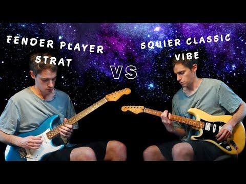 Squier Classic Vibe vs Fender Player Strat | SSS vs HSH