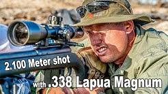 2.100 Meter (2.300 yards) shot with .338 Lapua Magnum | LONG RANGE GUYS