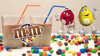 M&M's Milkshake DIY Very Yummy!