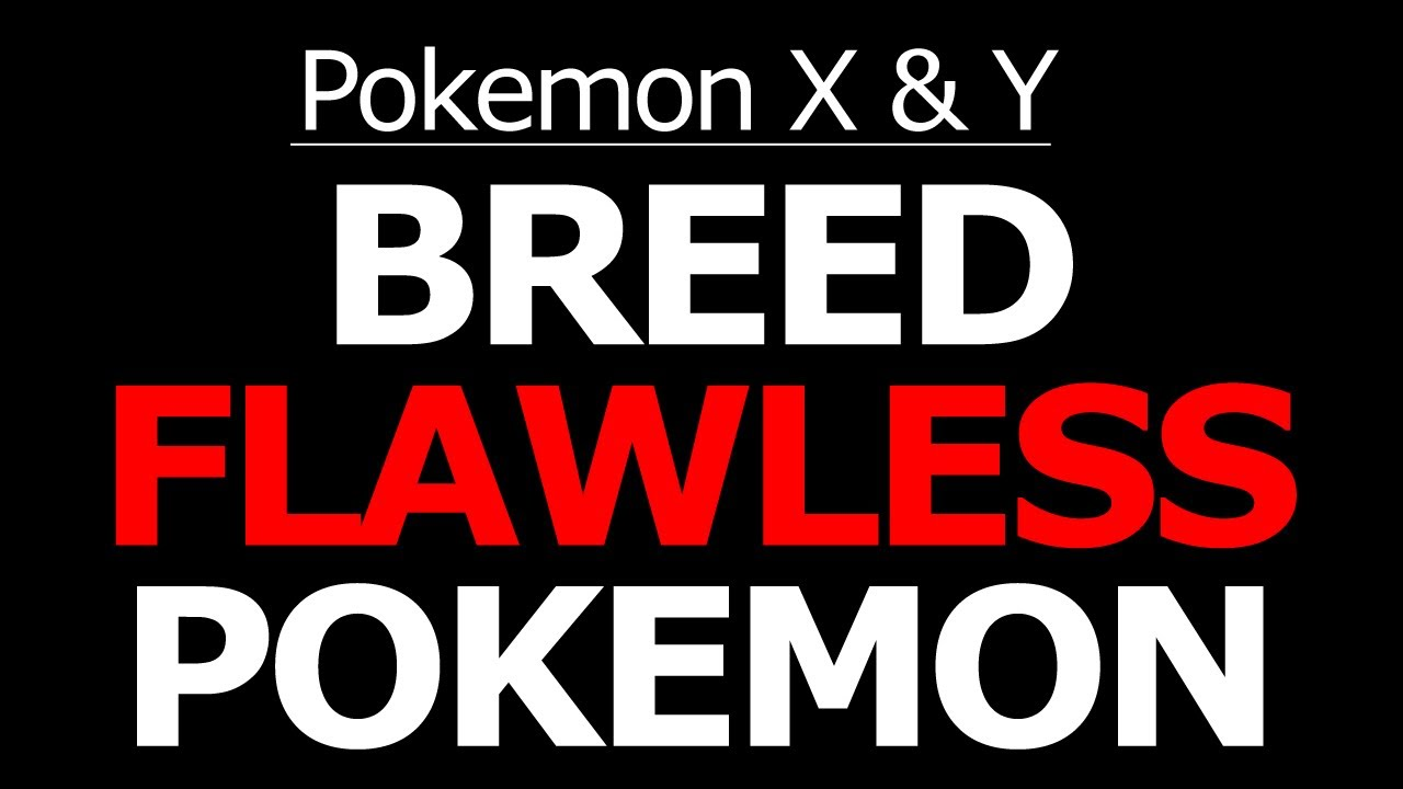 breed perfect iv pokemon