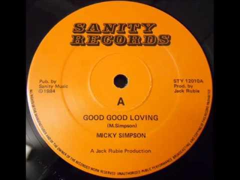 MICKY SIMPSON - GOOD GOOD LOVING