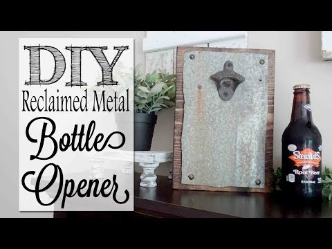 DIY Bottle Opener | Father's Day Gift Idea