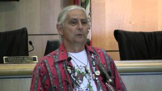 Brave Faces advocate David Martinez speaks about historical trauma