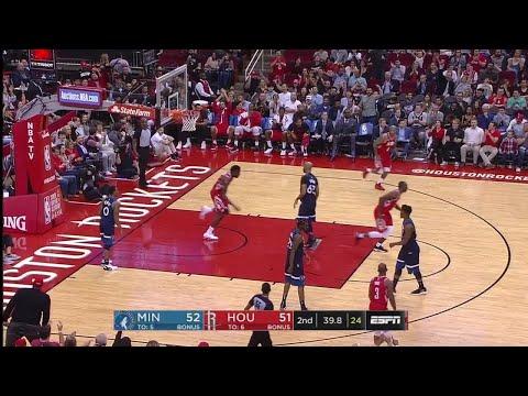 2nd Quarter, One Box Video: Houston Rockets vs. Minnesota Timberwolves