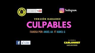 Culpables Anuel AA Ft Karol G Karaoke.mp3