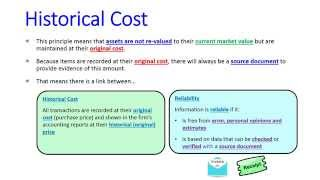 historical cost accounting convention