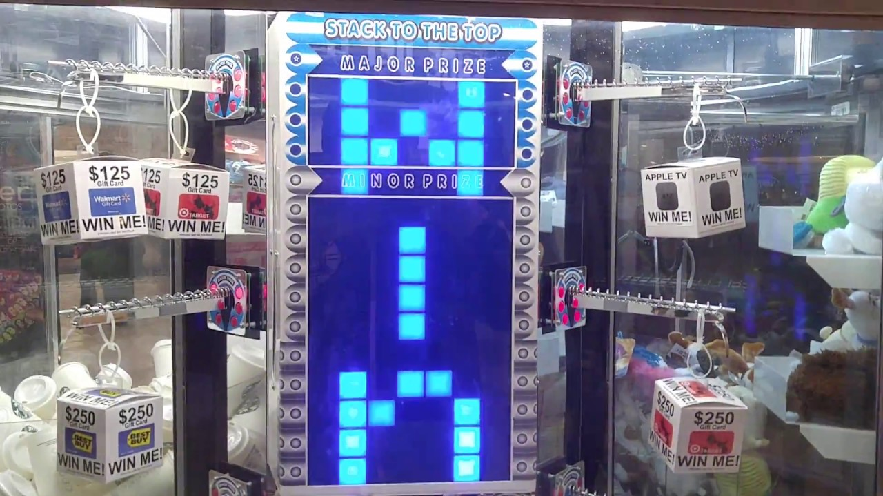STACKER ARCADE MACHINE WIN #10 ($250 BEST BUY GIFT CARD ...