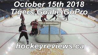 October 15th 2018 Tigers Hockey Goalie GoPro Yi 4K+