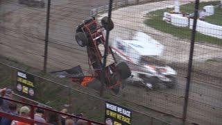 Eddie Strada Flip - 5/29/2016 - Grandview Speedway