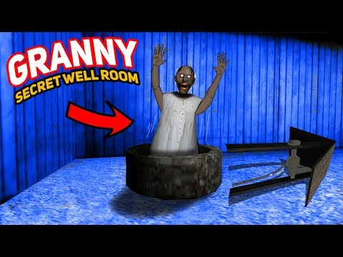 GRANNY'S SECRET WELL ROOM!!! | Granny The Mobile Horror Game (Story)
