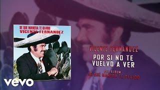 Video Vicente Fernández - Por Si No Te Vuelvo a Ver (Cover Audio) download MP3, 3GP, MP4, WEBM, AVI, FLV Agustus 2017