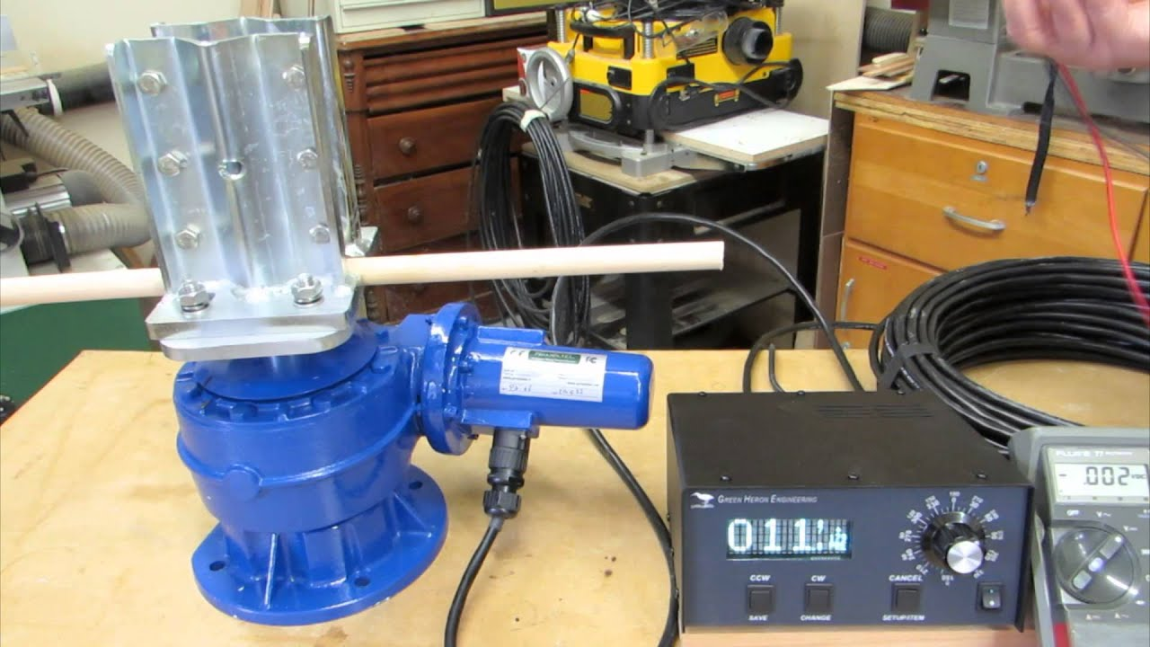 PST 61D Antenna Rotor and Green Heron Controller by Al Senechal