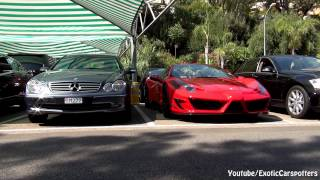 Mansory Ferrari 458 Spider Limited Monaco Edition 2012 Videos