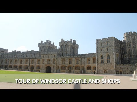 Tour of Windsor Castle & Gift Shops