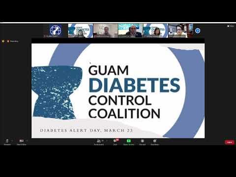 ADA Diabetes Alert Day Presentation sponsored by the Guam Diabetes Control Coalition