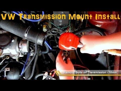 2010 Vw Gti Engine Diagram Volkswagen Transmission Engine Mount Install Mk4 Youtube