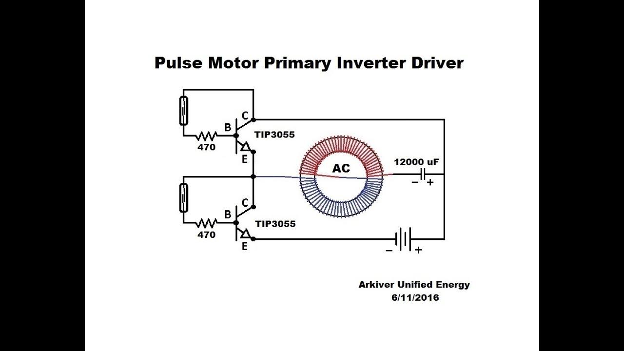 toroid pulse motor primary inverter driver youtube