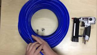 видео армированные трубки