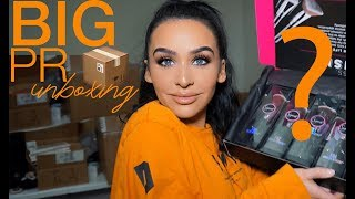 BIG PR UNBOXING HAUL! Carli Bybel thumbnail
