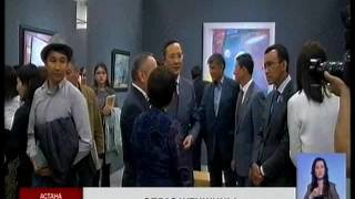 В Астане открылась выставка известного художника Е. Тулепбая