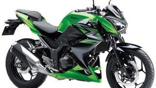 Обзор мотоцикла Kawasaki Z250!!!