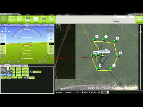 FAE QUADcopter waypoint navigation- guided and loiter