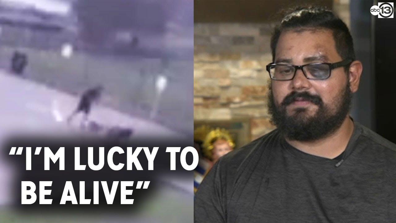 Download Man struck by lightning speaks out