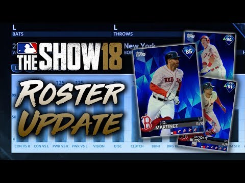 JD Martinez to DIAMOND! May 24th Roster Update! MLB The Show 18 Diamond Dynasty