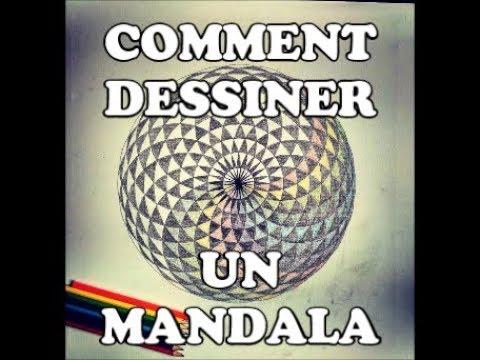 Comment dessiner un mandala g om trie sacr e youtube - Comment dessiner goldorak ...