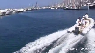 Путешествие на яхте часть 9 2015